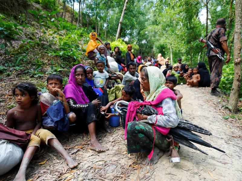 Myanmar military gang raped Rohingya Muslim women
