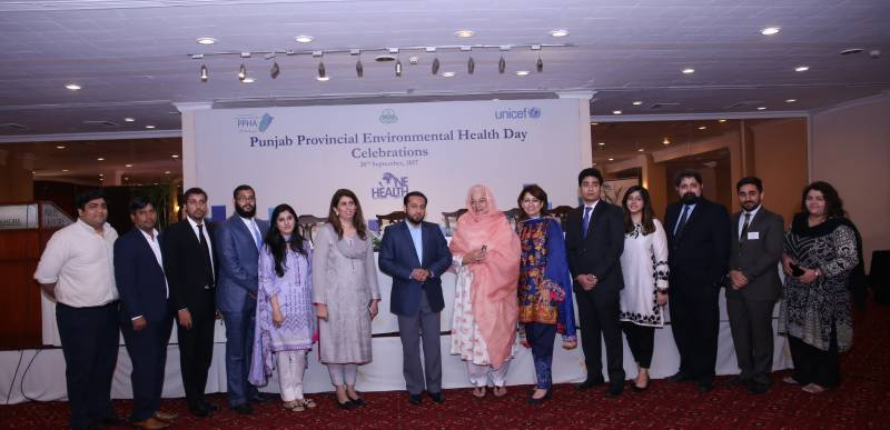 PMU-PPHA celebrates 'Punjab Provincial Environmental Health Day 2017'