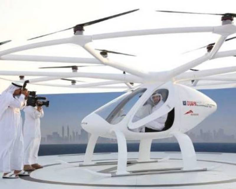 Dubai ready to become first city with flying taxis