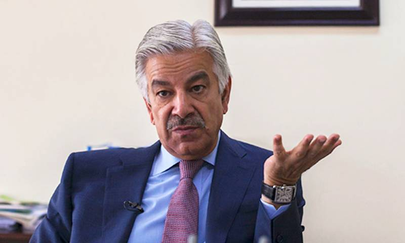 """Haqqanis and Hafiz Saeeds"" were US' ""darlings"" just 30 years ago: Khawaja Asif"