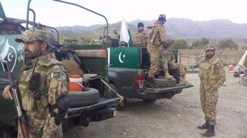 Roadside blast in Kurram Agency: 4 security officials injured