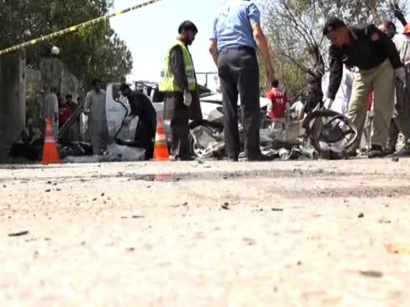 Explosion in Peshawar leaves five injured