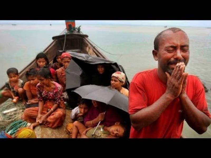 More than 50 Rohingya Muslims missing, with 20 dead, after their boat capsized