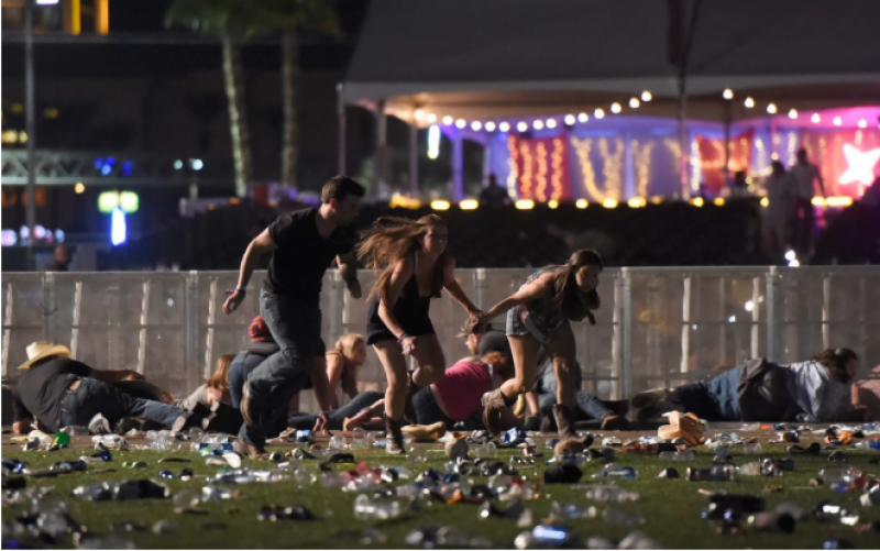 Firing at American musical concert, 59 dead 200 injured