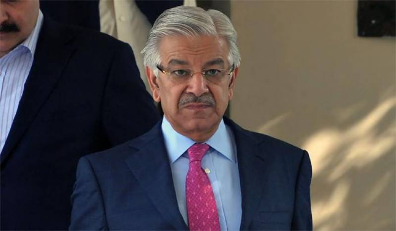 Khawaja Asif leaves for crucial US tour