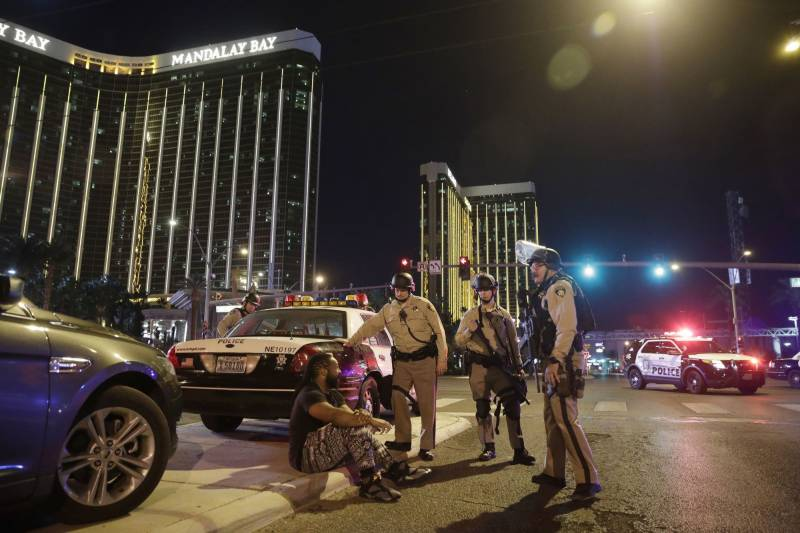 Weapons cache found at Las Vegas shooter's home