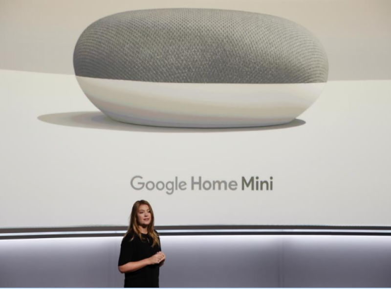 Google launches new phones, speakers in hardware push