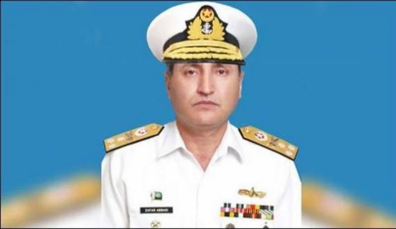 Zafar Mahmood Abbasi takes command as CONS