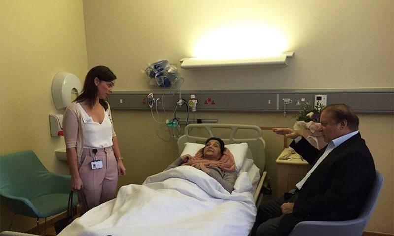 Kulsoom Nawaz to undergo first chemotherapy session