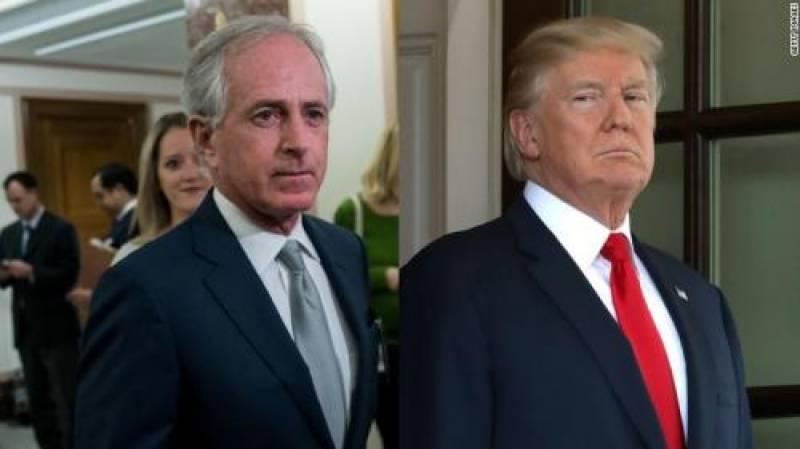 """Trump puts US on course for 'World War Three'"": Bob Corker:"
