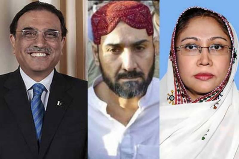 Uzair Baloch claims bounty on his head was struck off on Zardari, Talpur's order
