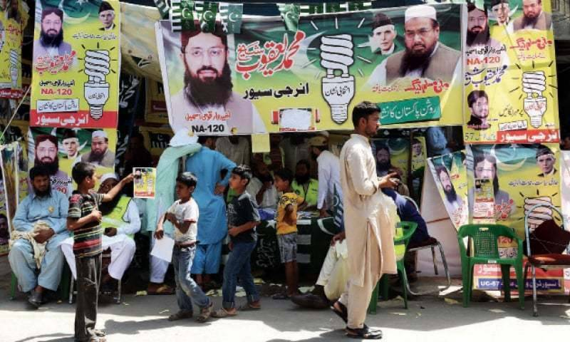 ECP rejects Hafiz Saeed's Milli Muslim League's registration application