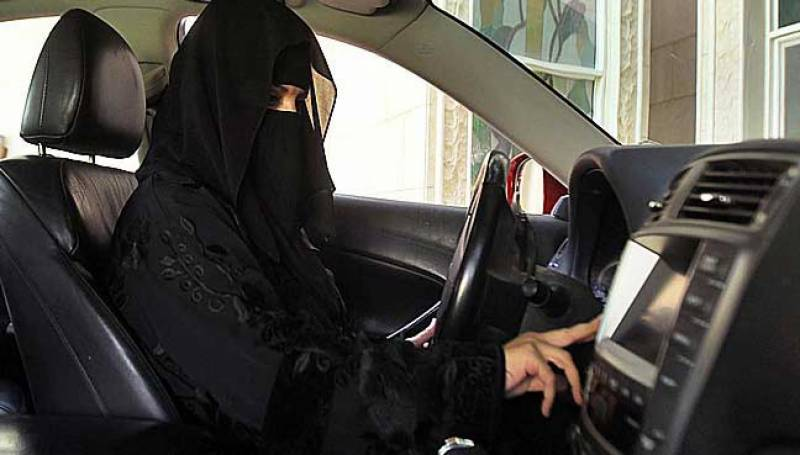 Saudi woman booked for driving
