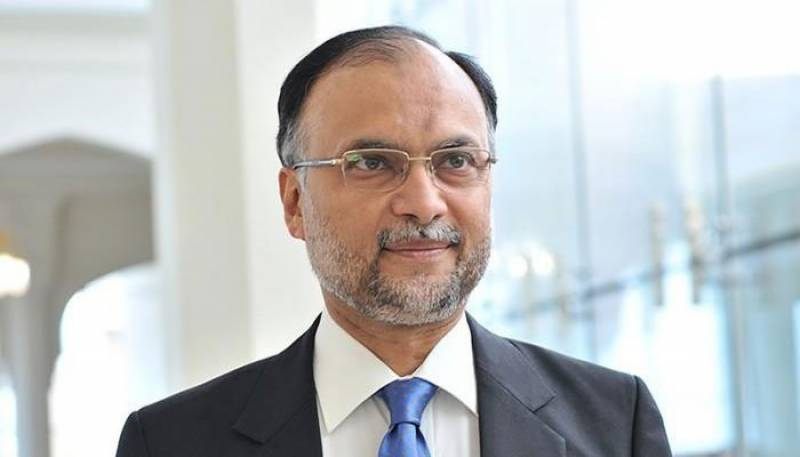 Pakistan still committed to work with US for achieving peace in region: Ahsan Iqbal