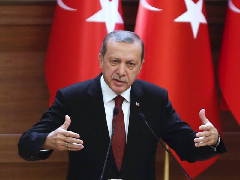 US sacrificing strategic ally Turkey: Erdogan