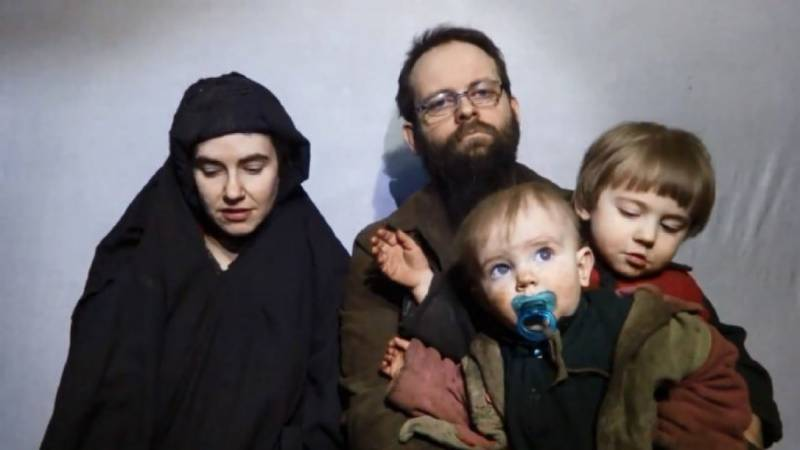 Rescued US-Canadian family leaves Pakistan
