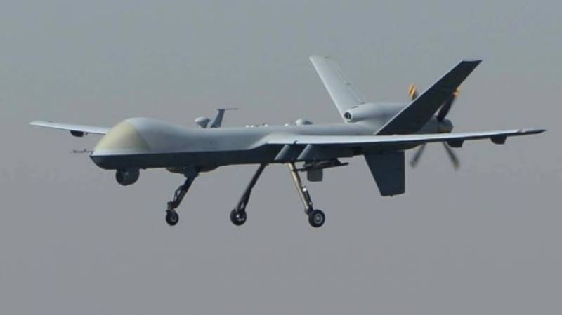 Drone strike near Pak-Afghan border on second consecutive day: sources