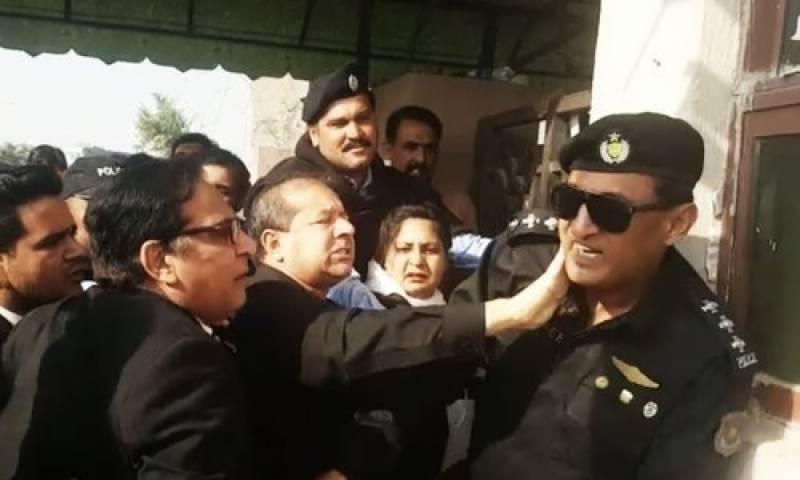 Punjab govt sacked advocate who slapped police officer outside NAB court