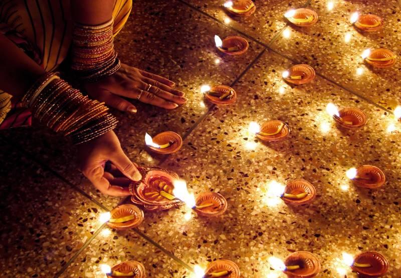 Hindu community celebrates Diwali
