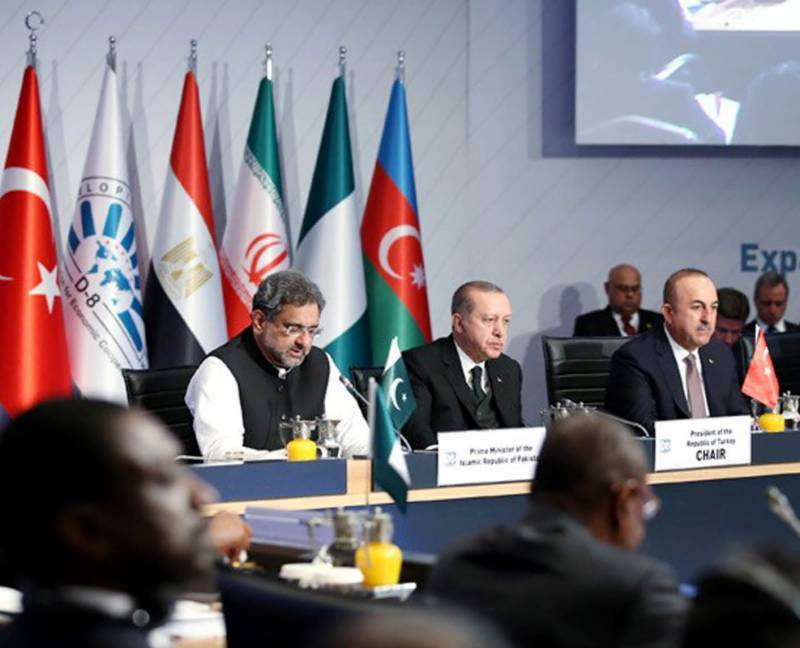 PM Abbasi urges D-8 countries to enhance trade, economic partnerships