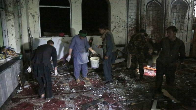 60 killed, 45 injured in two Afghan mosque attacks