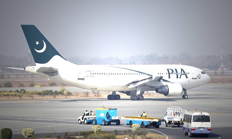 PIA flight delayed after minor damage at Toronto airport
