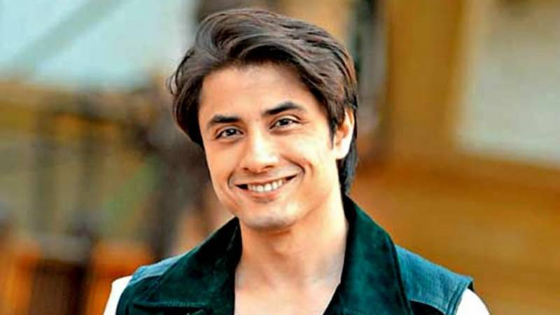 Watch: Video of Ali Zafar's daughter goes viral on media