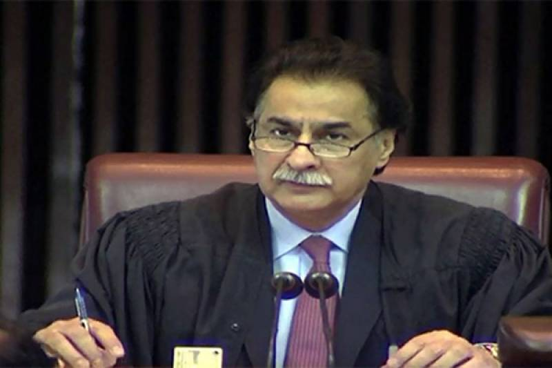 Speaker NA summons meeting to discuss reallocation of seats