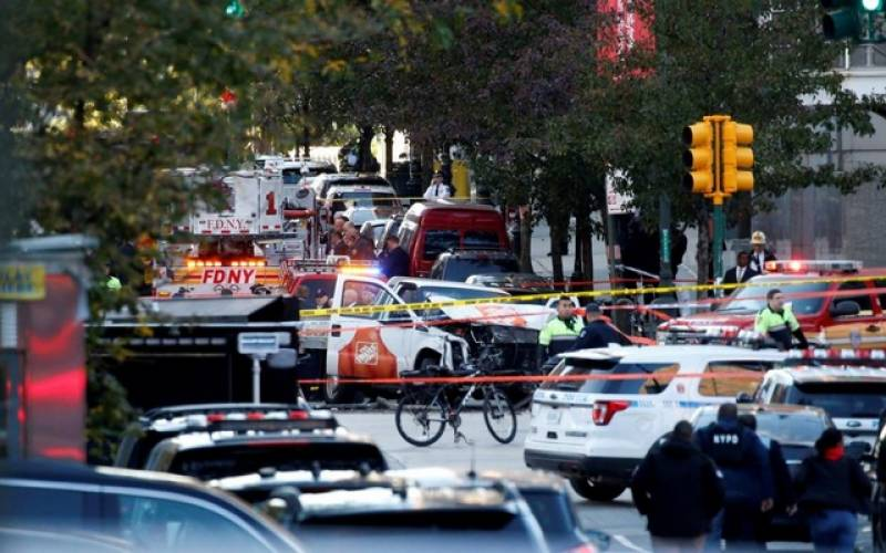 8 killed in truck attack on Manhattan bike path