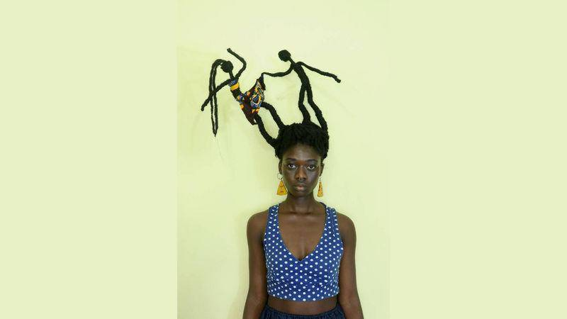 Ivorian artist puts a twist on #MeToo: she says it with her hair