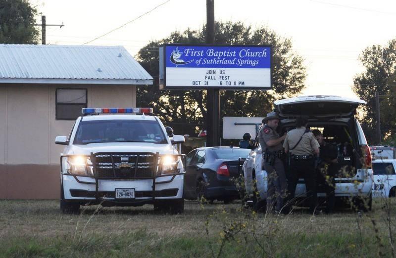 Gunman kills at least 26 worshipers at Texas church