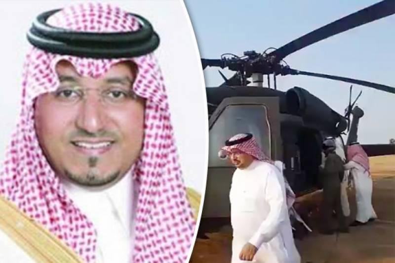 Helicopter crash near Yemen border claims lives of Saudi prince, officials: Arab media