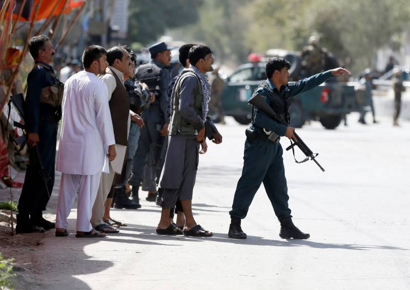 Gunmen storm Kabul TV station, deaths feared