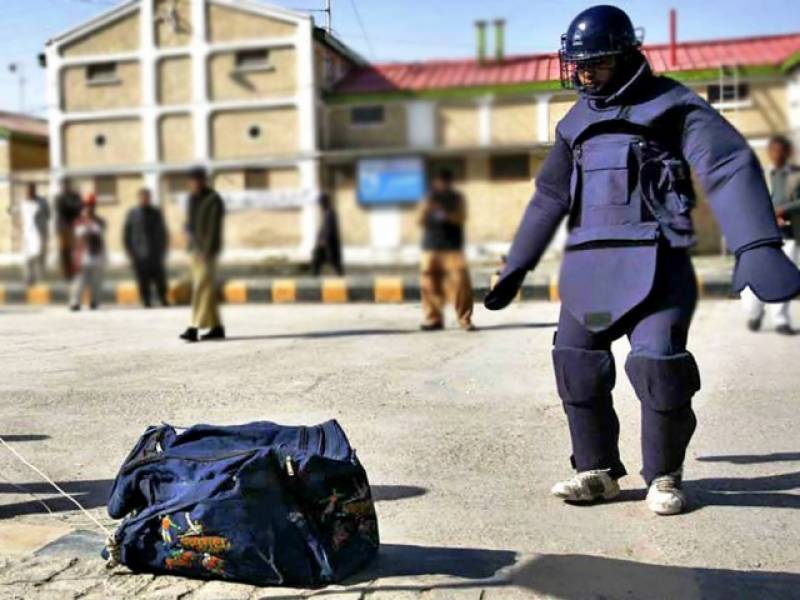 Five bombs found near Mehran University defused
