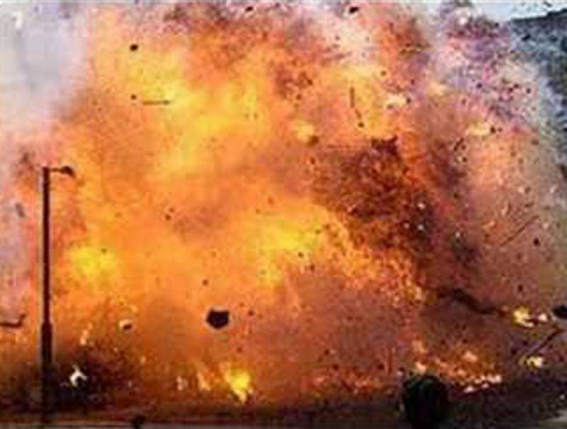 Five people including three security personnel injured in roadside blast