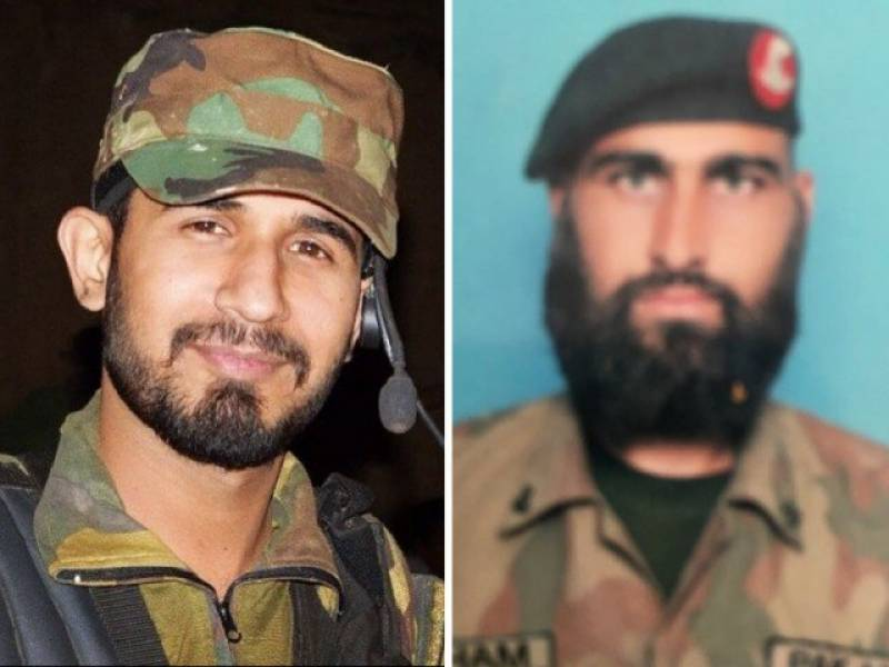 Army captain, soldier martyred in cross-border attack from Afghanistan