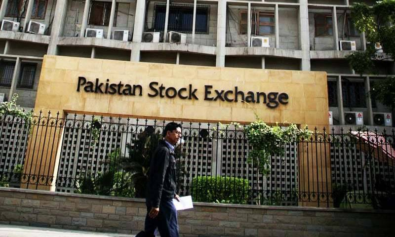 KSE 100 index sheds 196 points on first day of week