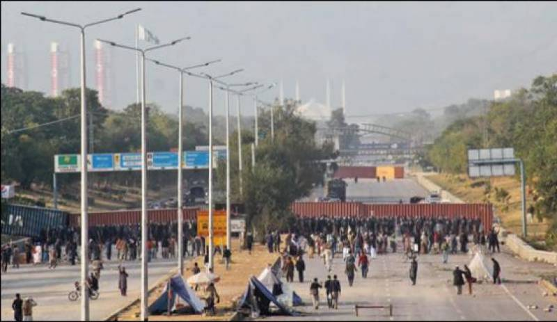 Islamabad sit-in continues for 15th day, negotiations fail to break deadlock
