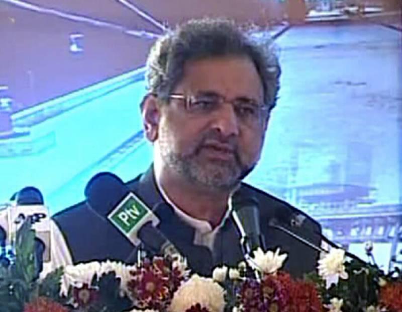 PM Abbasi inaugurates 2nd LNG terminal at PQ