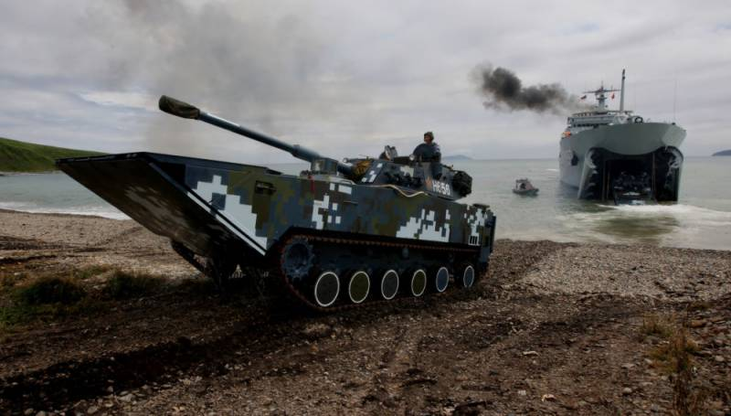 China unveils world's 'fastest amphibious assault vehicle'
