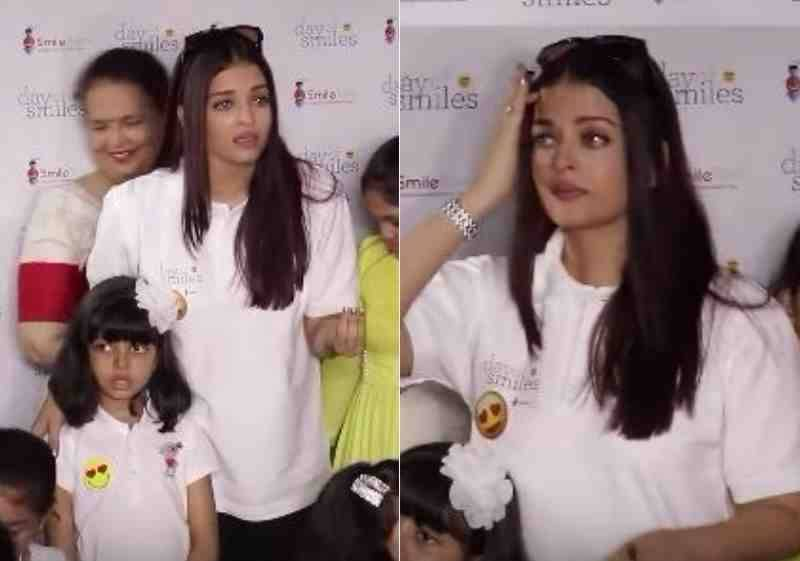 Paparazzi makes Aishwarya Rai to break into tears