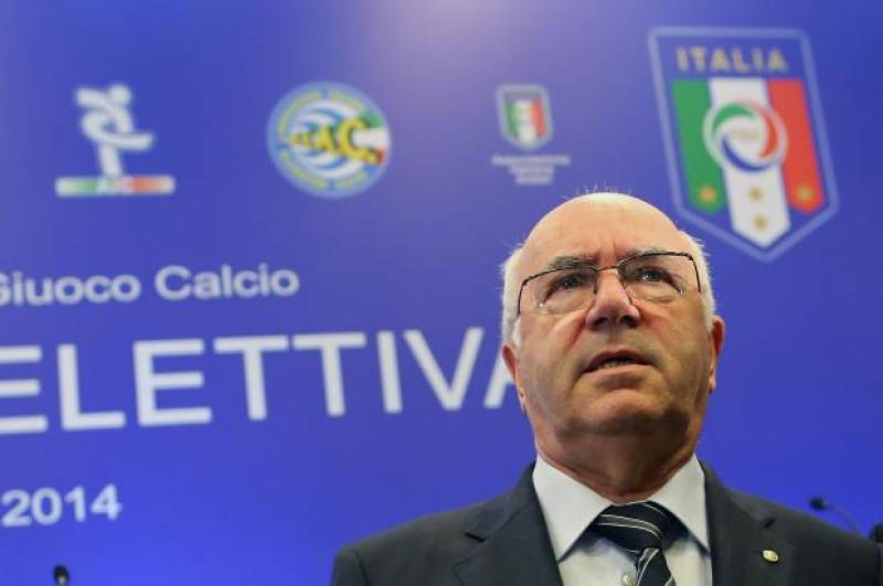 FIGC president resigns after World Cup elimination