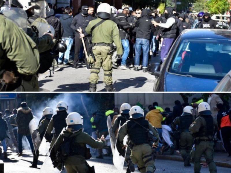 Pakistanis celebrating Prophet Muhammad (PBUH)'s birth anniversary attacked in Greek