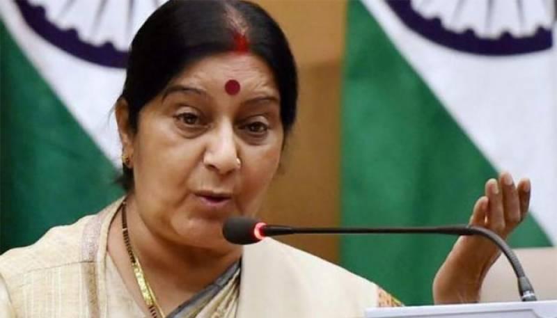 India to grant medical visas to three Pakistanis: Sushma Swaraj