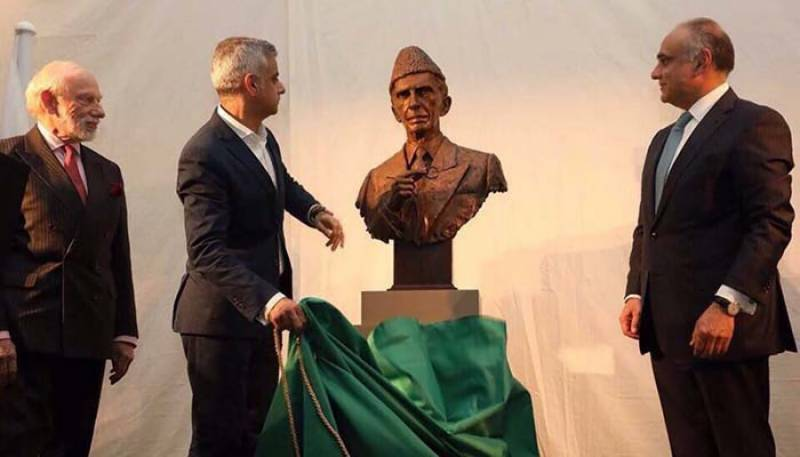 British museum unveils Quaid-e-Azam statue