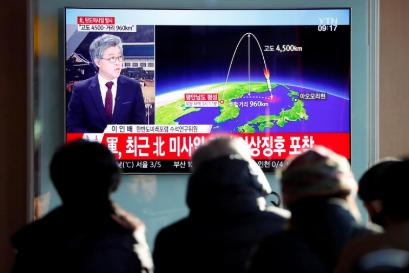 Washington seems within range of N. Korea ICBM