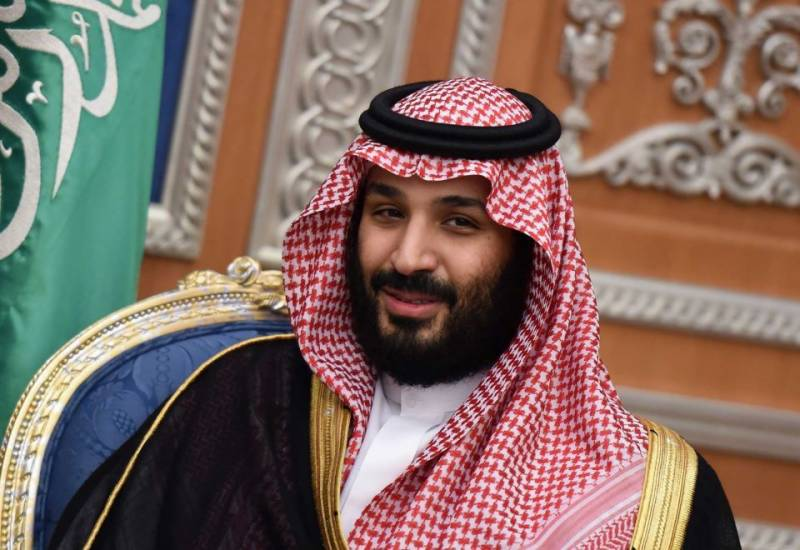 Saudi crown prince leading time's 'man of the year' poll
