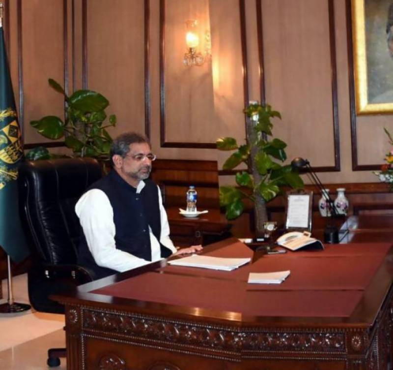 Terrorist groups present in Afghanistan, not Pakistan: PM Abbasi