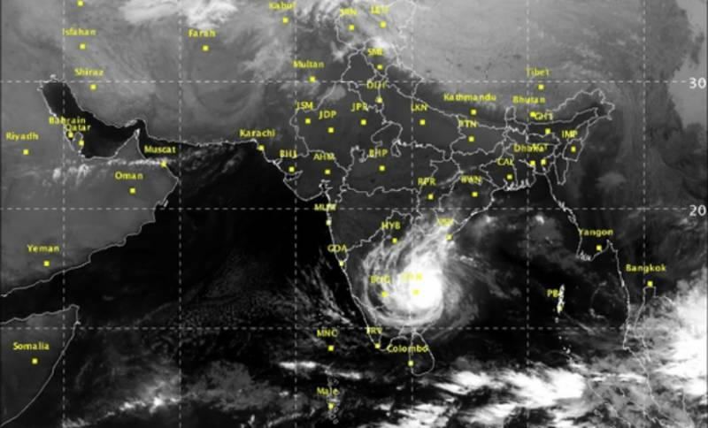 Deadly cyclone Ockhi likely to affects Karachi, other coastal cities