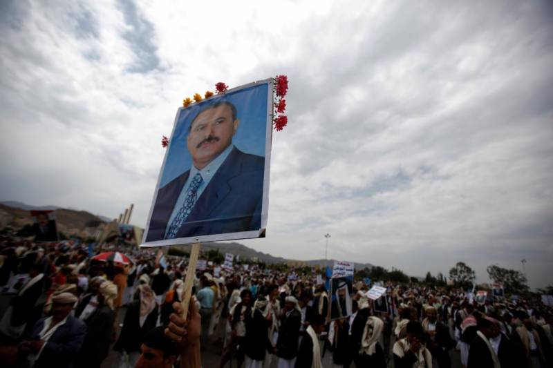 Saleh's exiled son takes up anti-Huthi cause
